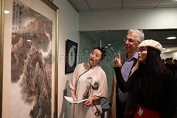 NEW ZEALAND-WELLINGTON-CHINA-ART EXCHANGE-EXHIBITION