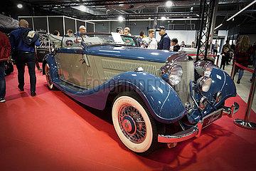 POLEN-WARSCHAU-OLDTIMER SHOW  Oldtimer Car Show in Warschau