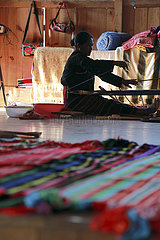 CHINA-YUNNAN-WA ETHNIC GROUP-WEAVING EXPERIENCE WORKSHOP (CN)