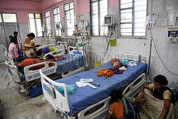 INDIEN-BIHAR-ENZEPHALITIS-HOSPITAL