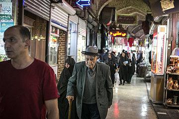 IRAN-URMIA-HISTORICAL BAZAAR