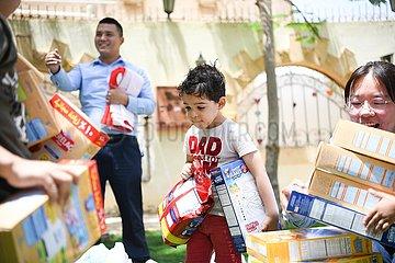 EGYPT-CAIRO-ORPHANAGE-CSCEC-DONATION-CHILDREN'S DAY