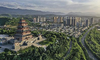 CHINA-SHAANXI-BAOJI-GREENING EFFORTS (CN)