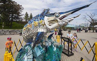 CANADA-TORONTO-ART EXHIBITION