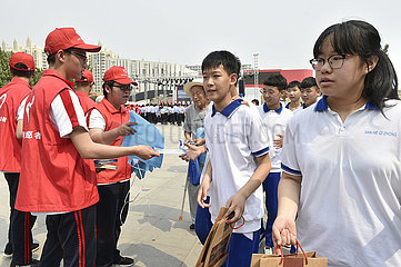 CHINA-HEBEI-INT'L ANTI-DRUG DAY-ACTIVITY (CN)