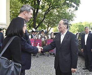 GERMANY-CHINA-WANG QISHAN-VISIT
