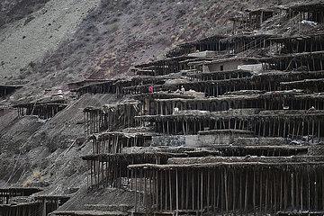 CHINA-TIBET-MANGKAM-salt PRODUCTION (CN)