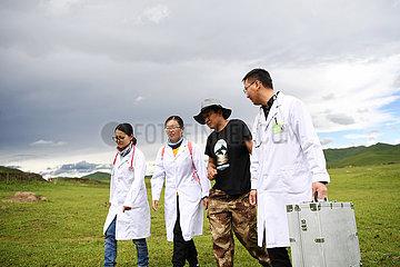 CHINA-GANSU-MAQU-MEDICAL AID (CN)