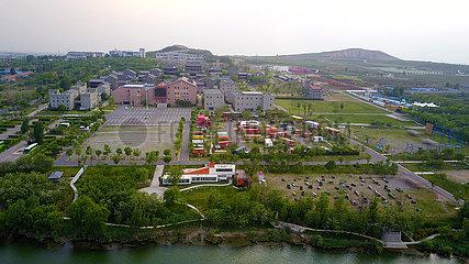 CHINA-SHANDONG-Anqiu KULTURELLE CREATIVITY Industrial Park (CN)