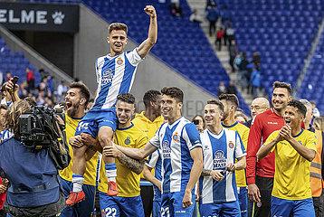 (SP)SPAIN-BARCELONA-SOCCER-SPANISH LEAGUE-ESPANYOL VS REAL SOCIEDAD La Liga  partido entre el RCD Espanyol y la Real Sociedad.