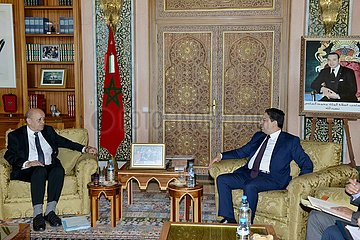 MOROCCO-RABAT-FRANCE-FOREIGN MINISTER