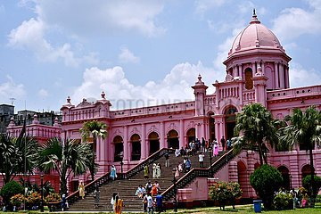 BANGLADESH-DHAKA-Ahsan Manzil-TOURISMUS