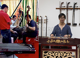 THAILAND-BANGKOK-CHINESE FOLK MUSIC LOVERS