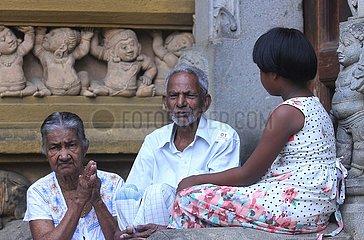 SRI LANKA-COLOMBO-BUDDHIST