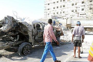 SOMALIA-MOGADISHU-CAR BOMBING