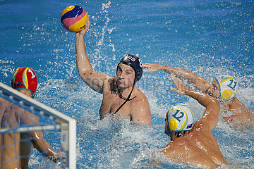 (SP)SERBIA-BELGRADE-WATER POLO-AUSTRALIA VS SERBIA