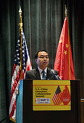 US-KENTUCKY-LEXINGTON-CHINA--US-. GOUVERNEURE FORUM