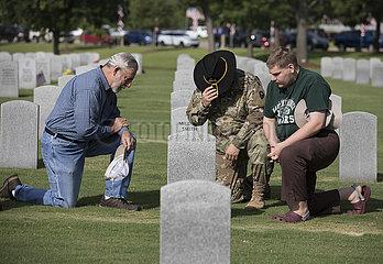 U.S.-HOUSTON-MEMORIAL DAY-COMMEMORATION MemorialDay2019