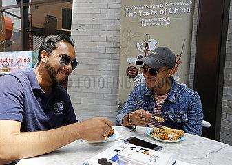 U.S.-Los Angeles-Taste of China  () - U.S.-Los Angeles-Taste of China  () - U.S.-Los Angeles-Taste of China  () -