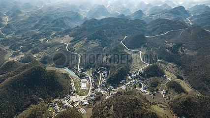 CHINA-GUIZHOU-RURAL ROAD NETWORK (CN)