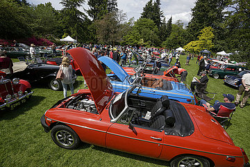 KANADA-VANCOUVER-BRITISH CLASSIC CAR SHOW