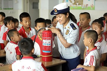 CHINA-HEBEI-HENGSHUI-SAFETY EDUCATION-SUMMER VACATION (CN)