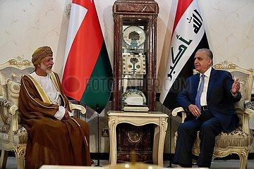 IRAQ-BAGHDAD-OMANI FM-VISIT