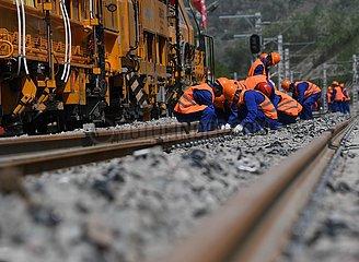 CHINA-SHAANXI-Yichuan-COAL RAIL-ABGESCHLOSSEN (CN)