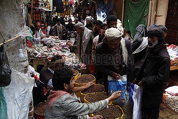 YEMEN-SANAA-EID AL-FITR-PREPARATION