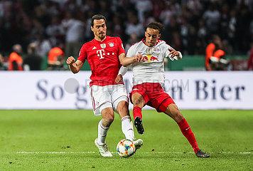 (SP)GERMANY-BERLIN-SOCCER-GERMAN CUP-FINAL-LEIPZIG VS BAYERN MUNICH