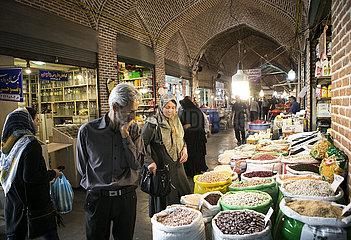 IRAN-Urmia-HISTORISCHE BAZAAR