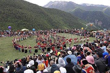 CHINA-SICHUAN-XIAOJIN-RITUAL (CN)