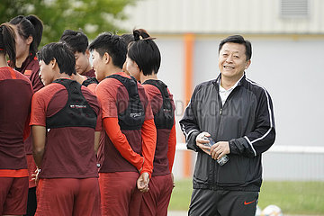 (SP)FRANCE-FOUGERES-2019 FIFA WOMEN'S WORLD CUP-CHINA-TRAINING SESSION (?????)(1)??——????????????
