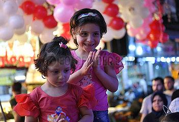 SYRIA-DAMASCUS-EID-AL-FITR-PREPARATIONS