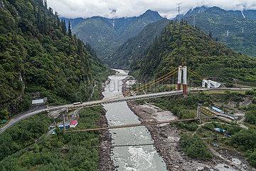 CHINA-SICHUAN-TIBET-Autobahnbr?cken (CN)