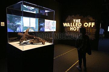 PORTUGAL-LISBON-BANKSY-EXHIBITION 'Banksy- Genius or Vandal?' exhibition in Lisbon