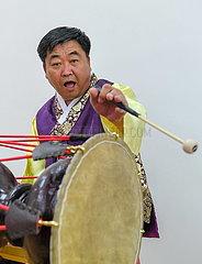 CHINA-JILIN-CHANGCHUN-KOREAN LONG DRUM (CN)