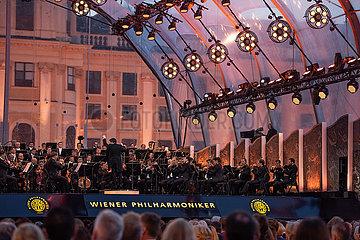 AUSTRIA-VIENNA-SUMMER NIGHT-CONCERT