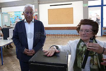 PORTUGAL-LISBON-EUROPEAN PARLIAMENT-ELECTION European Parliament elections in Portugal