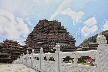 CHINA-GUIZHOU-ETHNIC GROUP-ARCHITECTURE (CN)