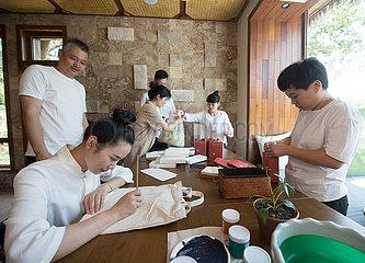 CHINA-ZHEJIANG-ANJI-GUESTHOUSE VILLAGE (CN)