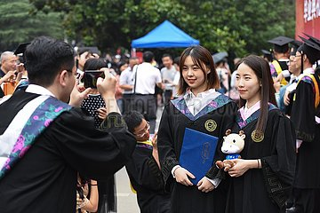 CHINA-HIGHER EDUCATION-GRADUATION (CN)