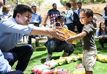 EGYPT-CAIRO-ORPHANAGE-CSCEC-DONATION-CHILDREN'S DAY