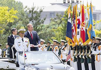 SOUTH KOREA-SEOUL-U.S.-DEFENSE MINISTERS-TALKS