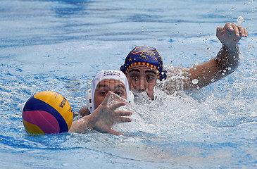 (SP)SERBIA-BELGRADE-WATER POLO-HUNGARY VS SPAIN