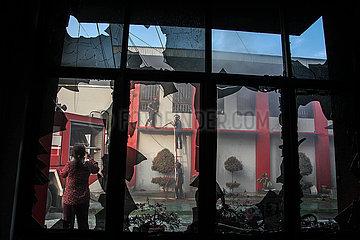 INDONESIA-NORTH SUMATRA-PRISON-RIOT-AFTERMATH