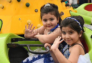 SYRIEN-DAMASKUS-EID-al-Fitr-CHILDREN