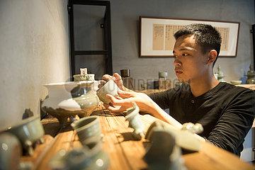 CHINA-ZHEJIANG-LONGQUAN-ART-CELADON (CN)