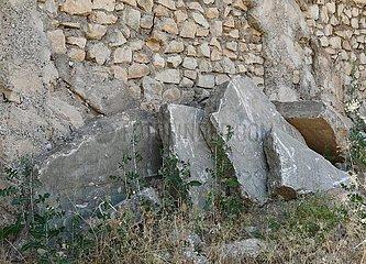 IRAQ-NIMRUD-ARCHAEOLOGICAL SITE-RUINS