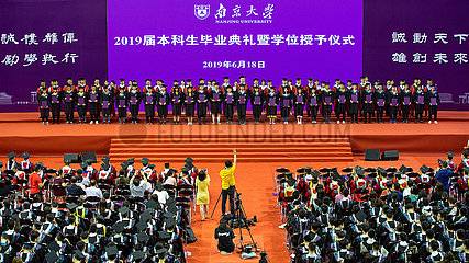 #CHINA-NANJING UNIVERSITY-COMMENCEMENT CEREMONY (CN)